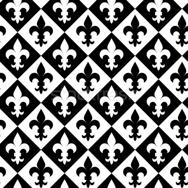 черно белые алмазов геометрический современных аннотация Сток-фото © Zebra-Finch