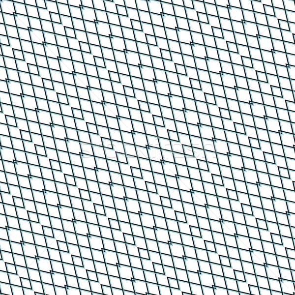 Senza soluzione di continuità zig-zag linee tessuto pattern Foto d'archivio © Zebra-Finch
