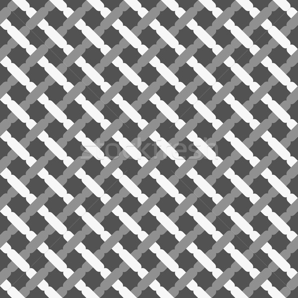 Monochrome pattern with shades of gray lattice Stock photo © Zebra-Finch