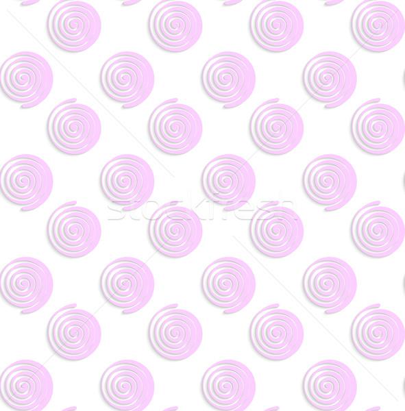 Blanco papel rosa resumen sin costura Foto stock © Zebra-Finch