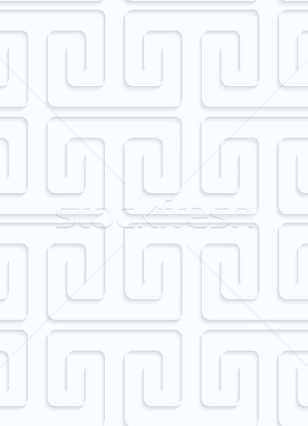 Quilling paper square spirals fastened Stock photo © Zebra-Finch