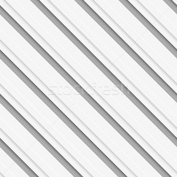 Geometrical pattern with white beveled diagonal  lines Stock photo © Zebra-Finch