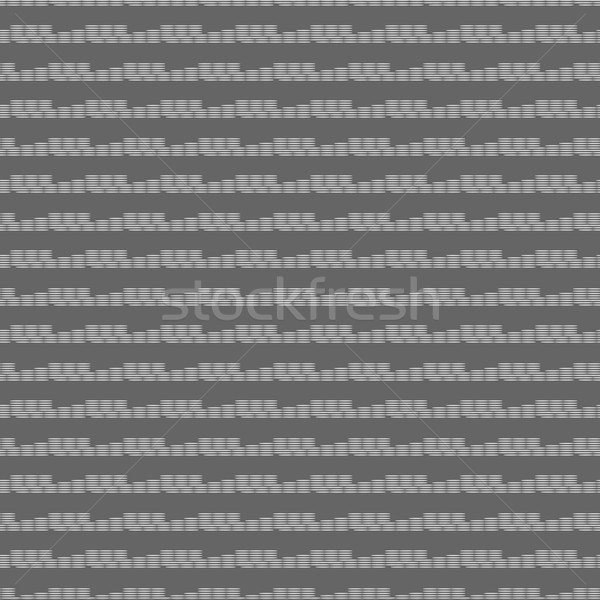Monochrome pattern with white dotted horizontal lines Stock photo © Zebra-Finch