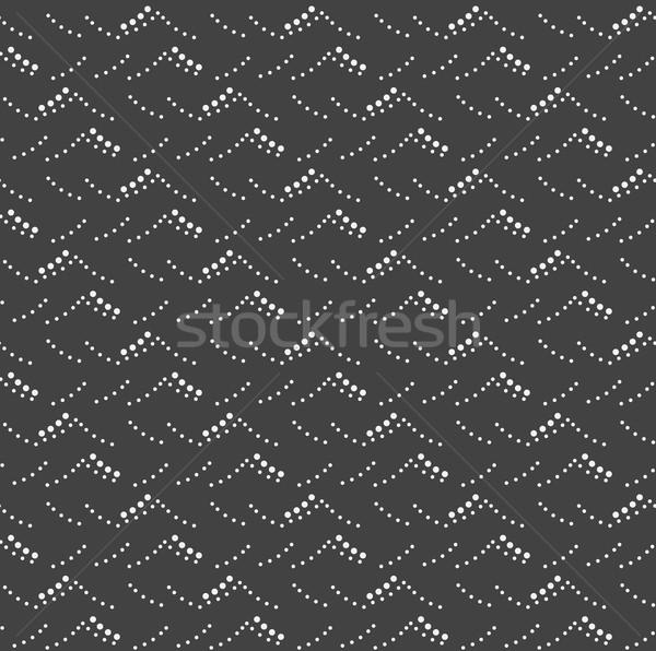 Monochrome modèle gris noir pointillé mer Photo stock © Zebra-Finch