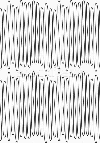 Gray scribble line Stock photo © Zebra-Finch