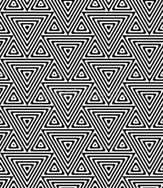 Blanco negro grande pequeño elegante geométrico moderna Foto stock © Zebra-Finch