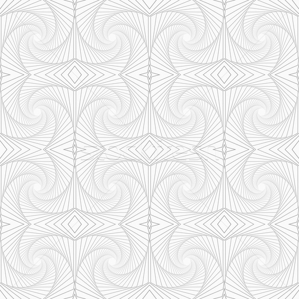 スリム グレー 縞模様の 建物 スタイリッシュ ストックフォト © Zebra-Finch
