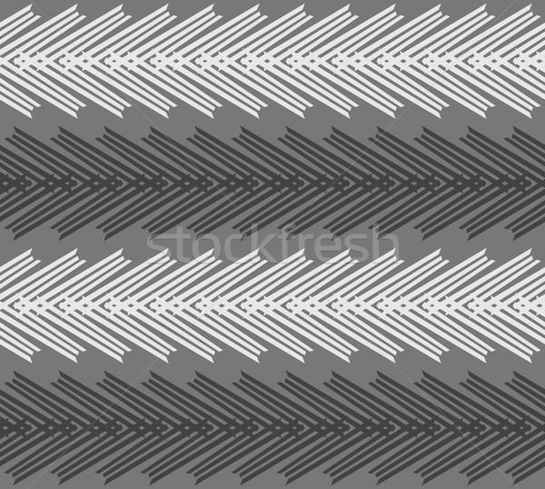 Monokróm minta csíkos fehér fekete sötét Stock fotó © Zebra-Finch