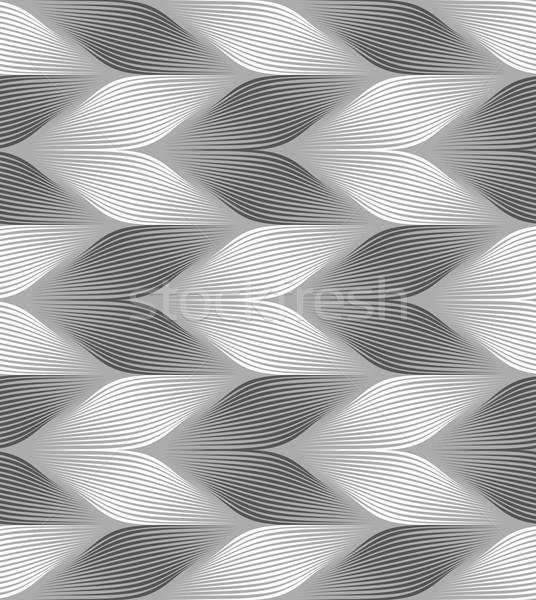 Monocromo a rayas luz oscuro sin costura patrón geométrico Foto stock © Zebra-Finch