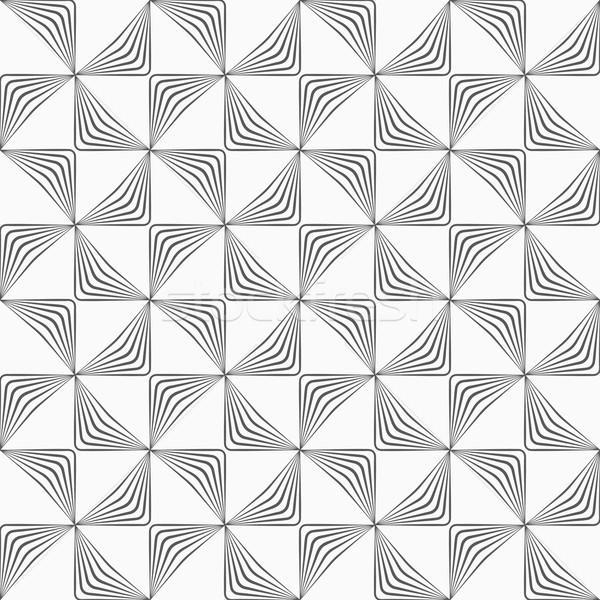 グレー 縞模様の モノクロ 抽象的な 幾何学的な パターン ストックフォト © Zebra-Finch