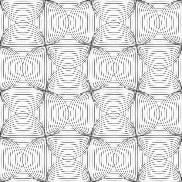 Slank grijs gestreept pin naadloos meetkundig Stockfoto © Zebra-Finch