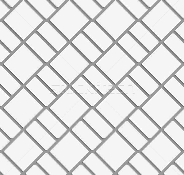 Perforated diagonal bricks Stock photo © Zebra-Finch