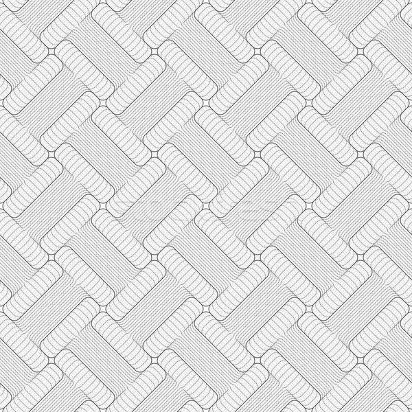 Szürke csíkos formák átló megérint elegáns Stock fotó © Zebra-Finch