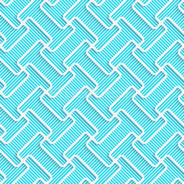Blanco 3D colores diagonal formas azul Foto stock © Zebra-Finch