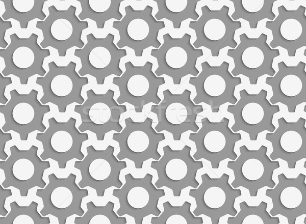 Perforated simple gears Stock photo © Zebra-Finch