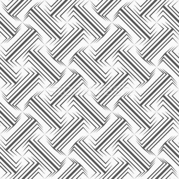 Shades of gray pointy double T shapes Stock photo © Zebra-Finch