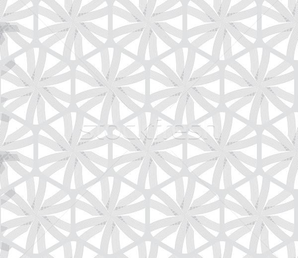 飾り グレー 六角形 純 行 ストックフォト © Zebra-Finch