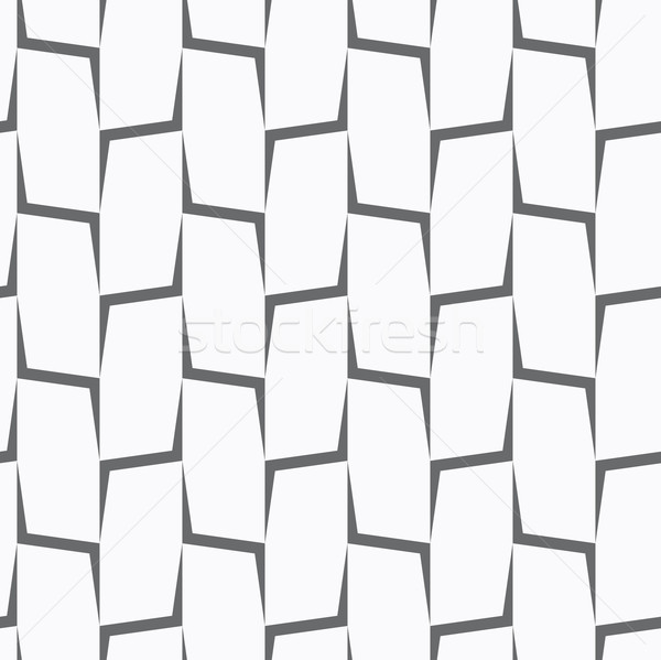 Repeating ornament vertical gray corners Stock photo © Zebra-Finch