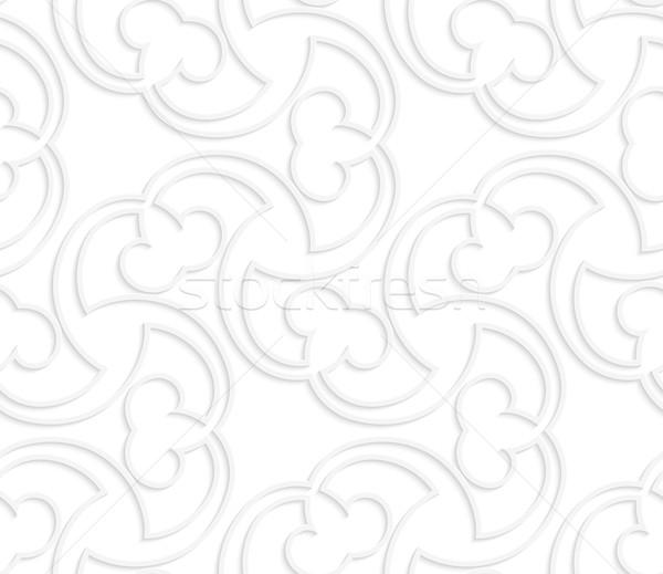 3D beyaz ince süs erik Stok fotoğraf © Zebra-Finch