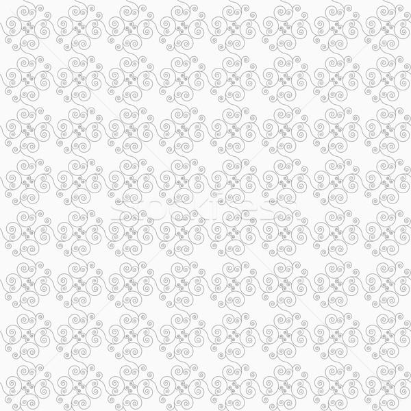 Szczupły szary przekątna elegancki geometryczny nowoczesne Zdjęcia stock © Zebra-Finch