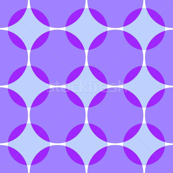 Renkli circles soyut 3D basit Stok fotoğraf © Zebra-Finch