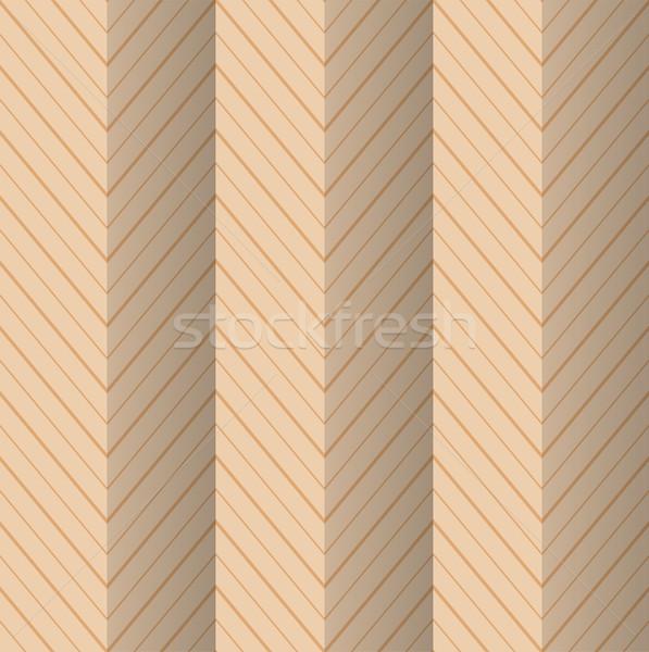 Stockfoto: Retro · gestreept · zigzag · vintage · gekleurd · eenvoudige
