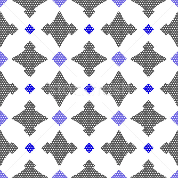 Dot textured pattern with gay and blue Stock photo © Zebra-Finch