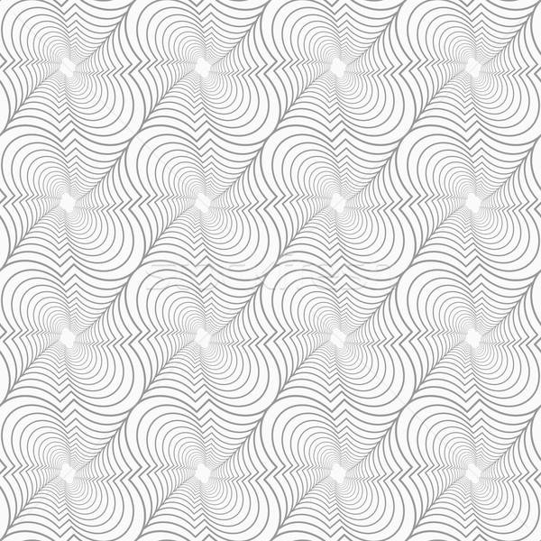 Szczupły szary przekątna sieci elegancki geometryczny Zdjęcia stock © Zebra-Finch