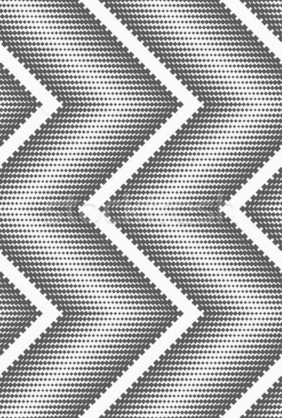 Szary półtonów streszczenie geometryczne wzór Zdjęcia stock © Zebra-Finch