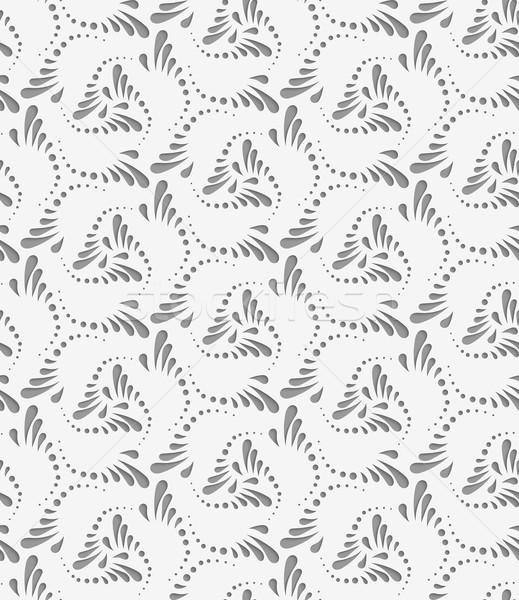 Florecer pequeño lacrimógenos gotas vuelta geométrico Foto stock © Zebra-Finch
