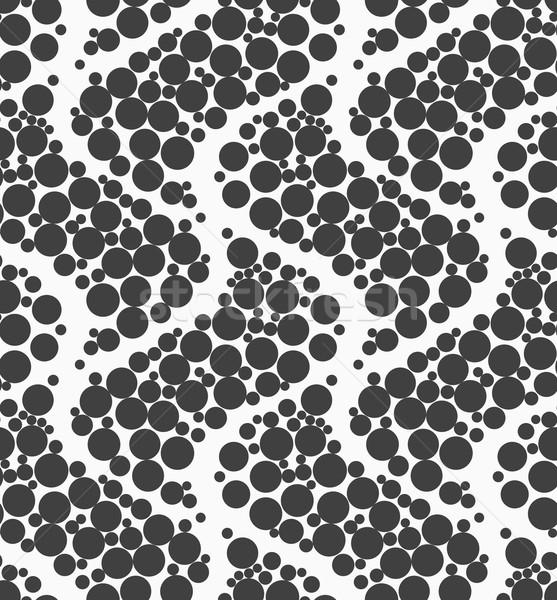 ビッグ モノクロ 点在 テクスチャ 抽象的な ストックフォト © Zebra-Finch