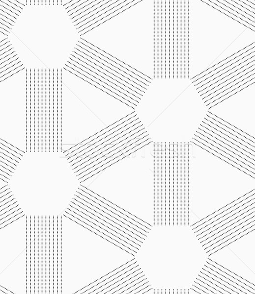 Gris punteado líneas sin costura elegante geométrico Foto stock © Zebra-Finch