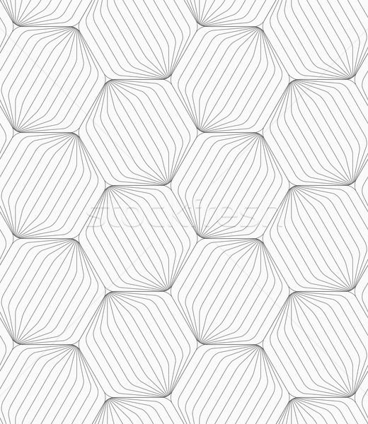 Szürke csíkos monokróm absztrakt mértani minta Stock fotó © Zebra-Finch