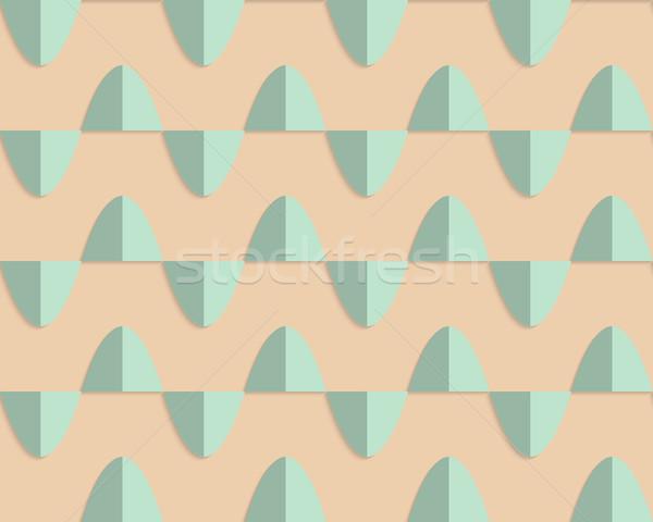レトロな 薄緑 ヴィンテージ 単純な ストックフォト © Zebra-Finch