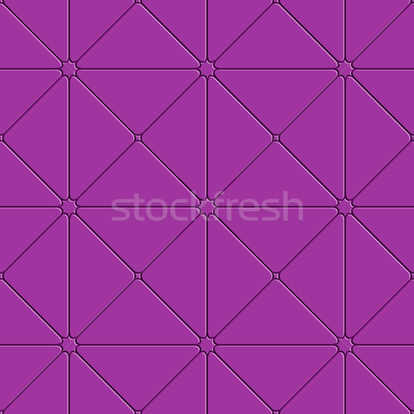 Purple triangular tile ornament Stock photo © Zebra-Finch