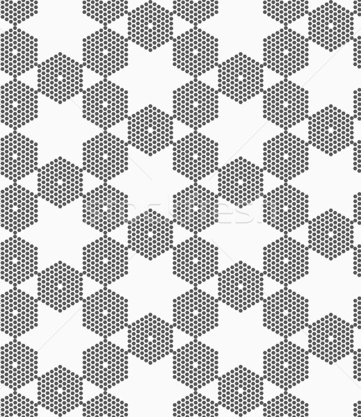 Textured with hexagons hexagonal grid Stock photo © Zebra-Finch