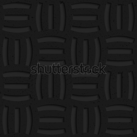 Textured black plastic three holes pin will Stock photo © Zebra-Finch