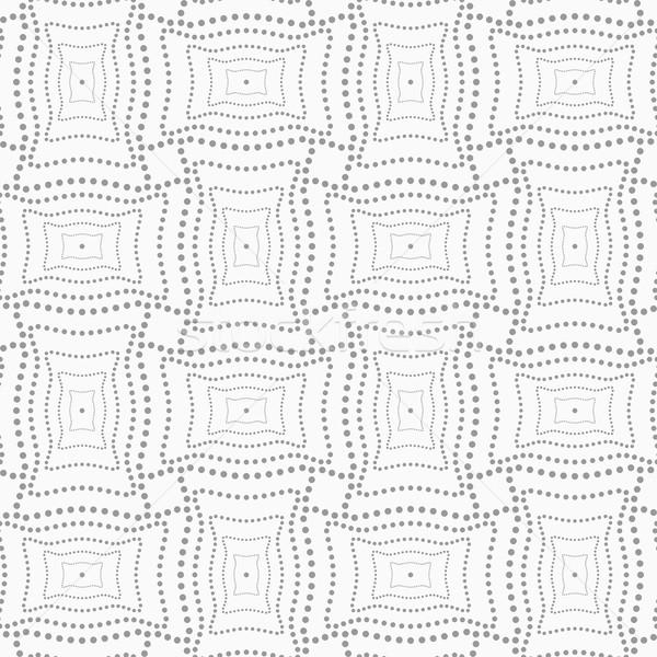 Stippel rechthoek structuur abstract meetkundig grijs Stockfoto © Zebra-Finch
