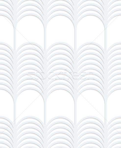3D fehér csíkos függőleges hálózat végtelenített Stock fotó © Zebra-Finch