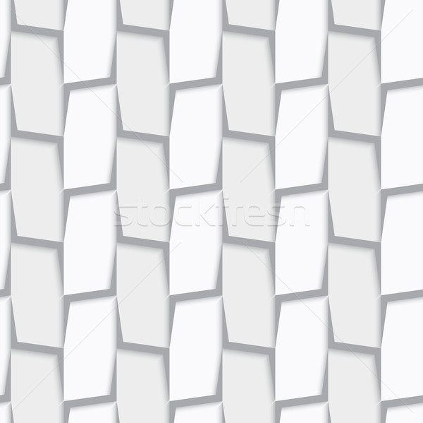 Geometrical ornament with white and light gray vertical lines ne Stock photo © Zebra-Finch
