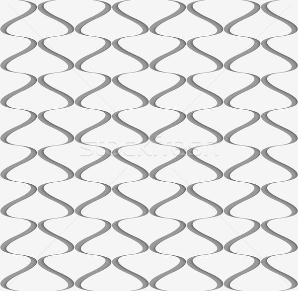 Carta verticale picche 3D pattern Foto d'archivio © Zebra-Finch