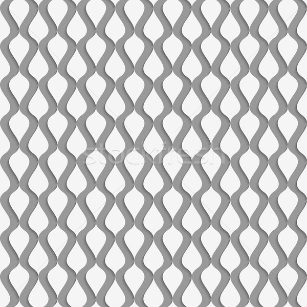 Stock photo: Perforated paper with vertical drops