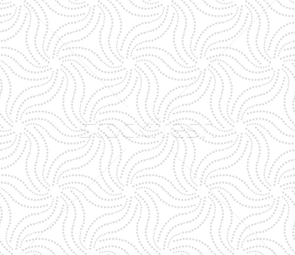орнамент пунктирный серый звезды бесшовный Сток-фото © Zebra-Finch
