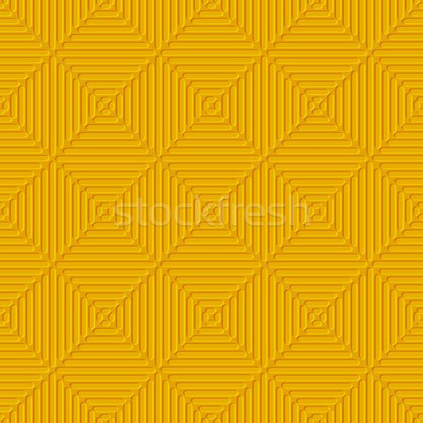 Seamless orange embossed lines Stock photo © Zebra-Finch