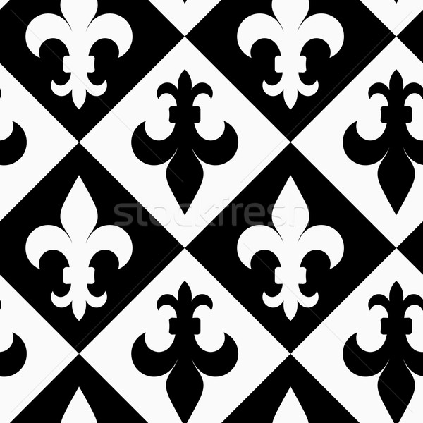 黒白 アップ ダウン スタイリッシュ 幾何学的な 現代 ストックフォト © Zebra-Finch