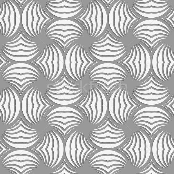 A rayas círculo pin sin costura patrón geométrico realista Foto stock © Zebra-Finch
