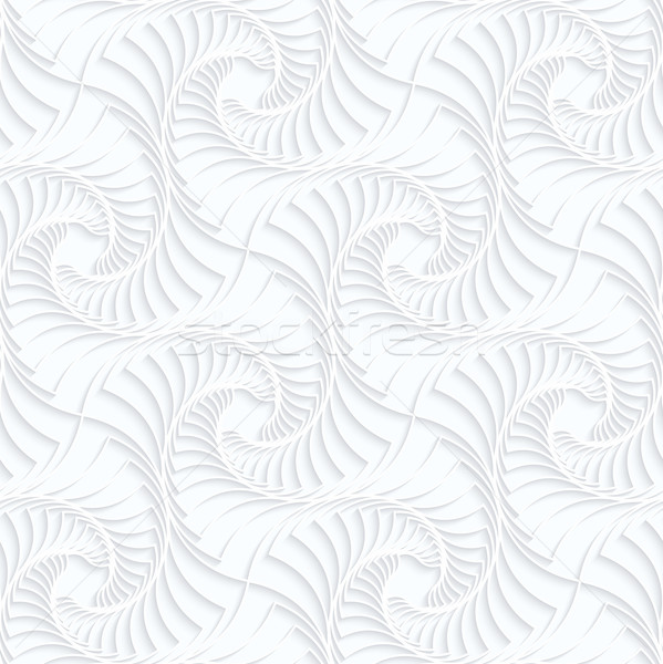 Quilling paper twisted stripes Stock photo © Zebra-Finch