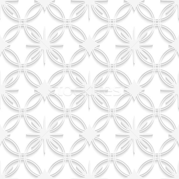 White detailed ornament seamless Stock photo © Zebra-Finch