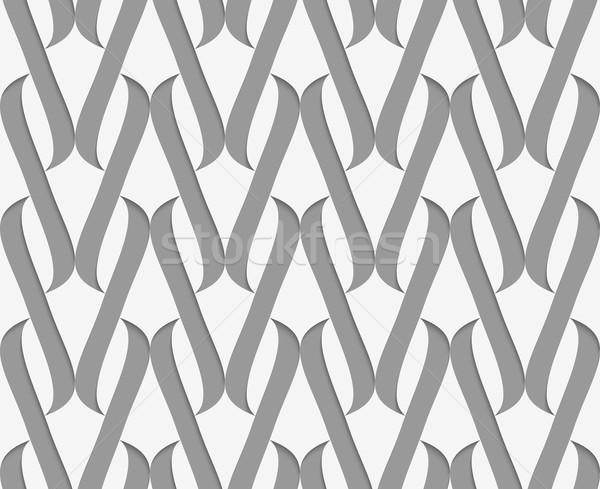 Papel elegante 3D patrón como efecto Foto stock © Zebra-Finch
