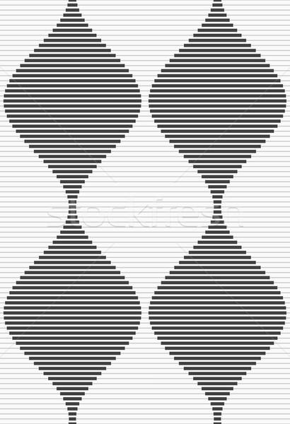 Shades of gray striped bulging waves merging Stock photo © Zebra-Finch